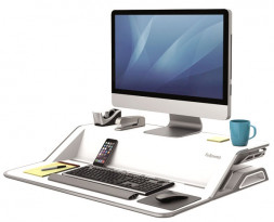 Подставка Fellowes Lotus Sit-Stand Workstation белый